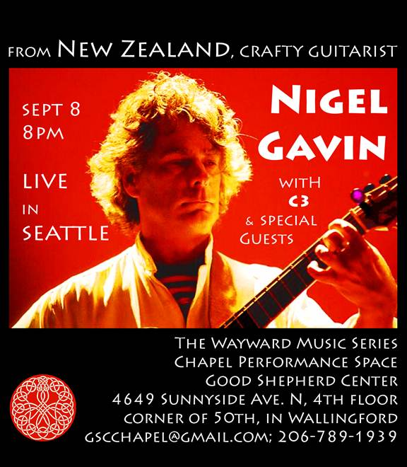 Guitarist Nigel Gavin