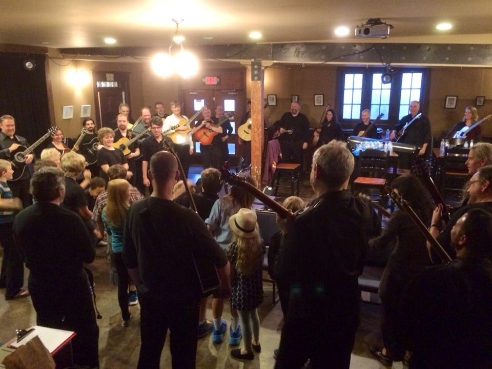 Seattle Circle Guitar School students meet the OCG